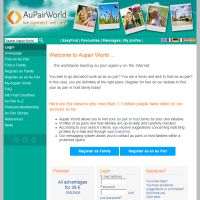 how to use au pair world