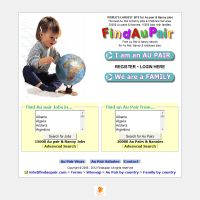 au pair dating service Aupairworld is not a traditional au pair agency it does not provide placement services or charge for placement services the only possible charge from aupairworld is for premium membership.