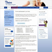 Tinies Childcare image